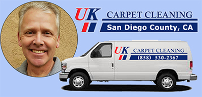 UK Carpet Cleaning in San Diego County California