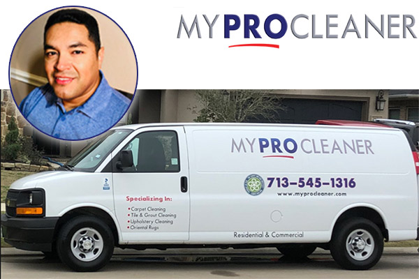 Spring Texas Cleaner Josh Almanza